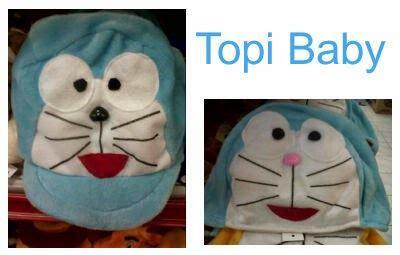 Bantal Mobil Set 3 In 1 Doraemon Biru Sandaran Kepala 3in1 Lucu Unik doraemon sahabat doraemon perlengkapan baby doraemon