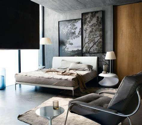 nachttisch grau für boxspringbett wohnzimmer einrichten blau