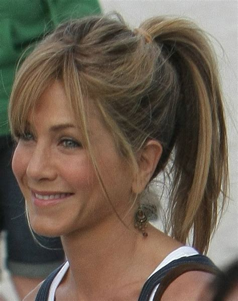 how long is jennifer degaldos hair ponytail hairstyles for long hair hairs to the front and