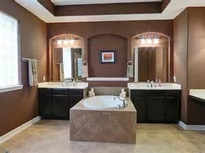 Master Bathroom Vanities Ideas master bathroom makes an elegant choice by separating the two vanities