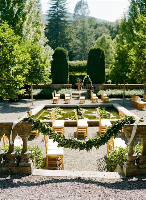 Beaulieu Garden by Lulu Events Beaulieu Garden Wedding Napa Valley