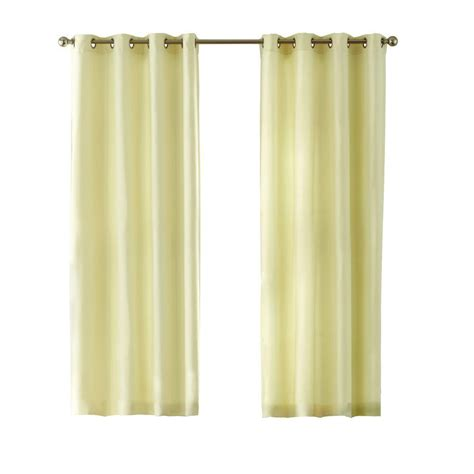 cream textured curtains home decorators collection cream basket texture grommet