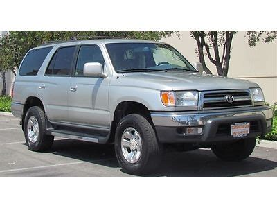 how to sell used cars 1999 toyota 4runner free book repair manuals sell used 1999 toyota 4runner sr5 sport utility pre owned in long beach california united
