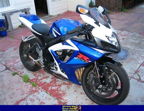 2007 Suzuki Gsxr 750 Horsepower 2007 Suzuki Gsx R 750 Pics Specs And Information