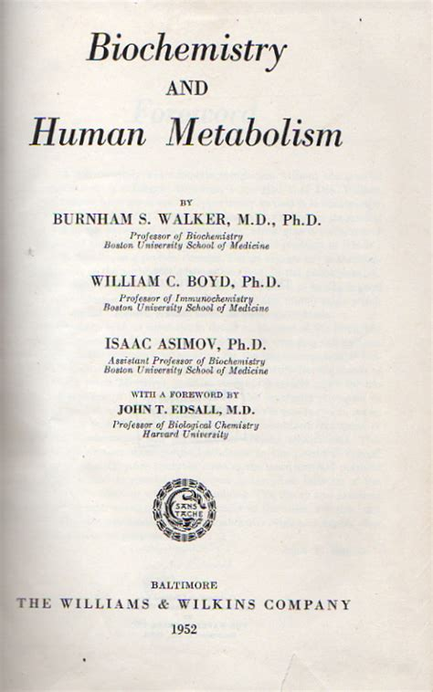 human biochemistry books biochemistry and human metabolism