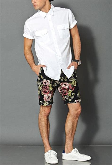 black and white patterned shorts outfit 21 shorts outfit ideas to be the best dressed man this weekend