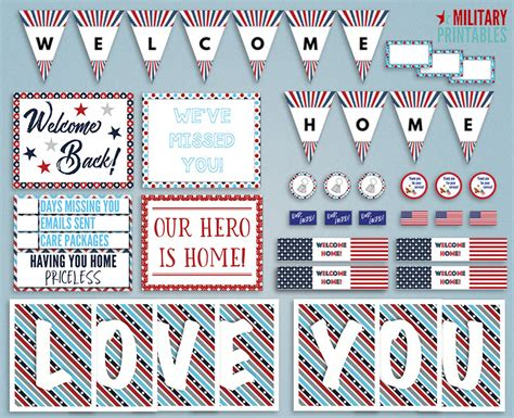 Military Home Decorations military welcome home decorations home design inspirations