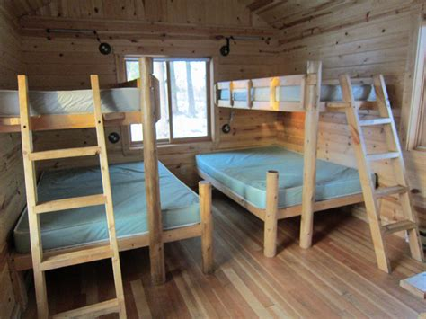 cabin bunk beds state parks