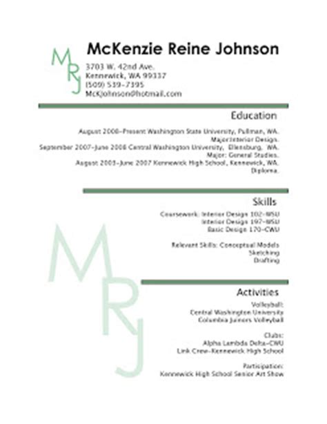 interior design student resume johnson interior design student resume