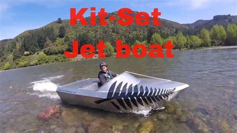 mini jet boat with v8 jet boat kitset testing youtube