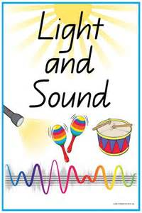 the lights and sounds of 44 light and sound vocabulary words and pictures