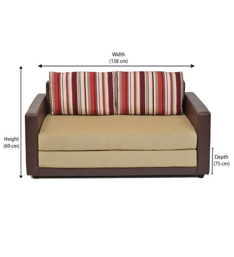 Home Aloes Sofa Cum Bed By Home Online Fabric