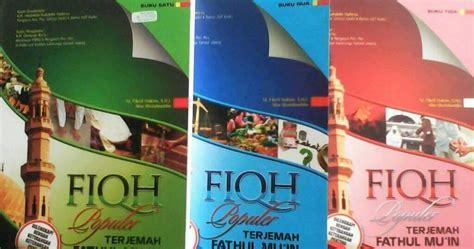 Khalista Set buku fiqh populer terjemah fathul mu in 3 jilid