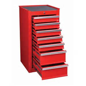 18 in 7 drawer glossy end cabinet for roller tool chest