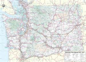 Map Of Washington State Cities And Towns by Large Detailed Tourist Map Of Washington With Cities And Towns