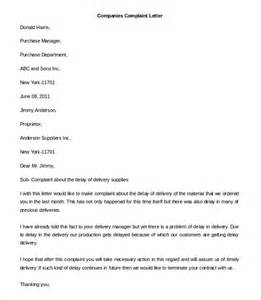 Free Complaint Letter Template 20 Free Word Pdf