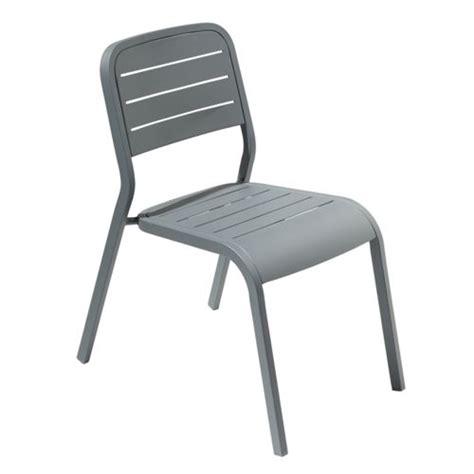 hyba chaise alu152 gris graphite gris fonc 233