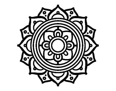 imagenes de mandalas con venecitas dibujo de mandala mosaico griego para colorear dibujos net