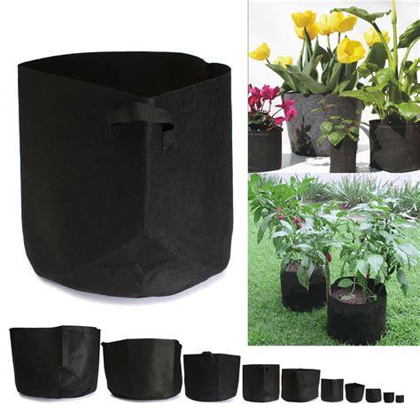 1pc hot sale round grow bags 1 15 gallon pots plant
