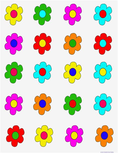 printable games about flowers free printable game flower hunt preschool powol packets