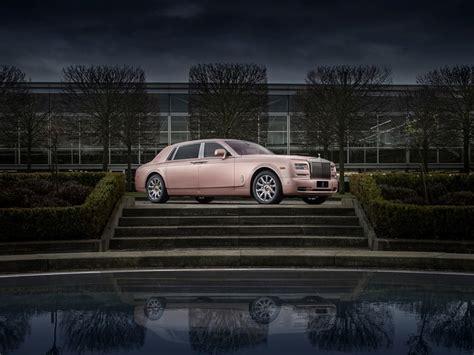 rose gold rolls royce rolls royce reveals special sunrise phantom an automotive