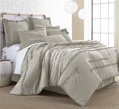 8 piece queen comforter set 8 piece collete linen comforter set queen bedding ever