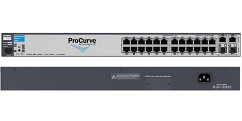 Hp Jg924a Hp Officeconnect Managed Switch 24 Port Gigabit 4sfp 192 hp j9085a procurve switch 2610 24 10 100 24 port managed