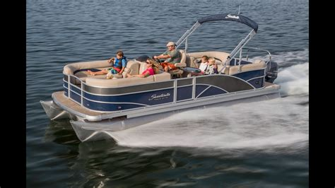 pontoon boats in rough water godfrey pontoon boats sweetwater premium 220 sl rough