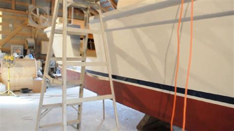 round boat youtube lewis 45ft custom harkers island round stern boat youtube