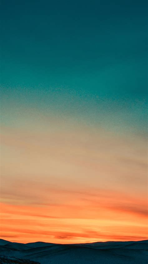 papersco iphone wallpaper nb sky sunset nature