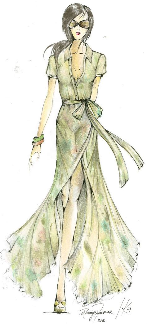 Sketches Clothes by Fashion Sketches Fashion Croqui Model Croqui Sketches