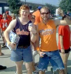This is what florida gator fans look like