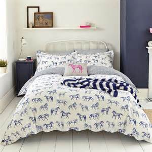 bedding with horses joules cushion from palmers department