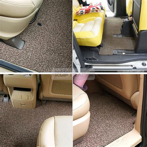 Kia New Pride Durable Premium Car Cover Tutup Mobil Black premium expandable side foot rest floor coil mats pad