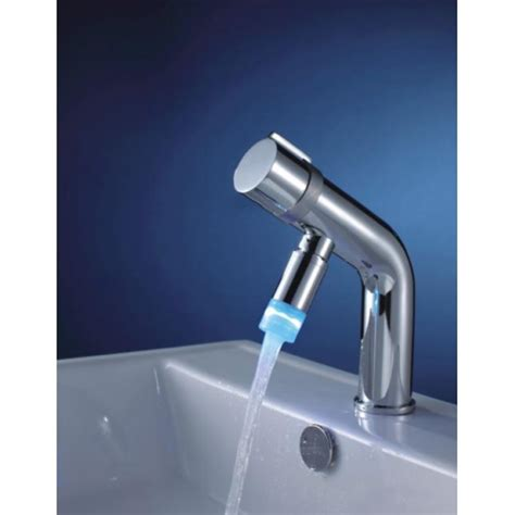 Chrome Finish Led Centerset Bathroom Sink Faucet Led Bathroom Faucet