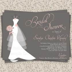template for bridal shower invitation 25 bridal shower invitations templates psd invitations