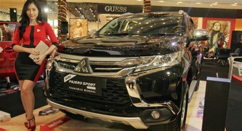 Gate Spoiler All New Pajero Sport Original mitsubishi all new pajero sport exceed kini ada transmisi manual harga lebih murah