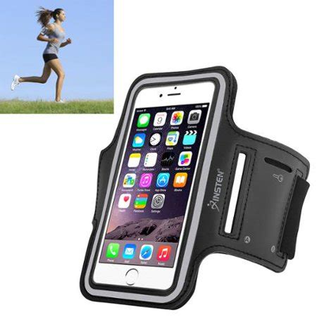 Primary Pouch Iphone 7 4 7 Black insten sports running exercise armband