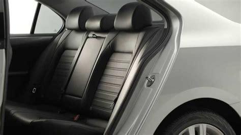 volkswagen jetta  split folding rear seat youtube