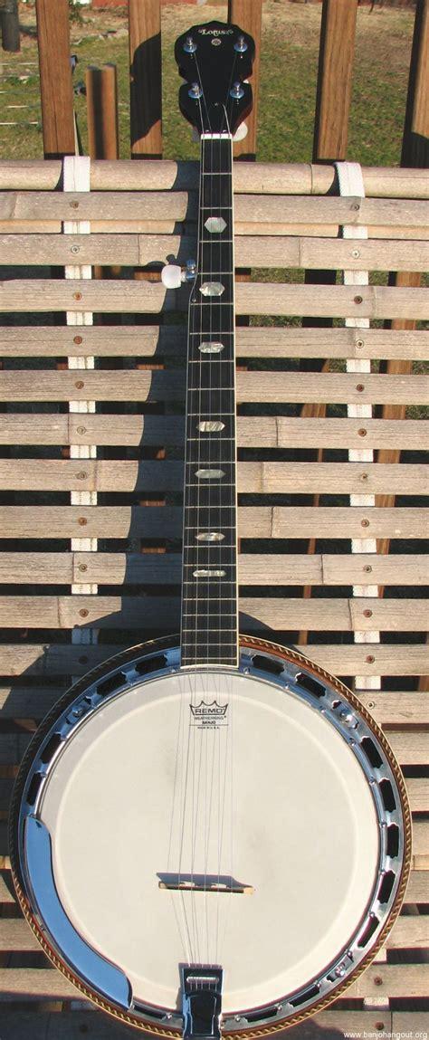sold lotus lb15 5 string banjo sold pending payment
