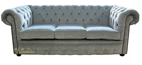 duck egg blue sofa bed chesterfield 3 seater settee velluto duck egg fabric sofa