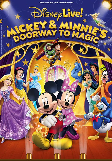 magic mickey and minnie disney doorway to live disney live mickey and minnie s doorway to magic the