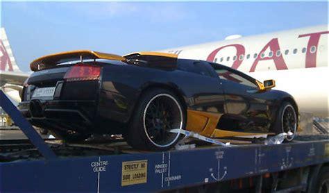 Private Fixer PR: A rich Arab sent his Lamborghini