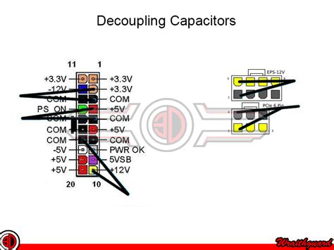 decoupling capacitor wiring common pinout requests oc3d forums
