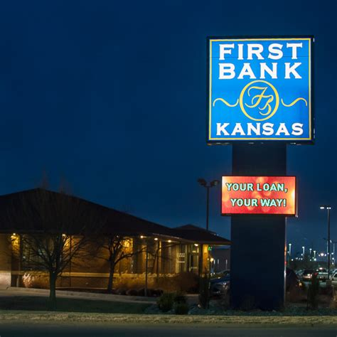ks bank salina archives luminous neon sign systems