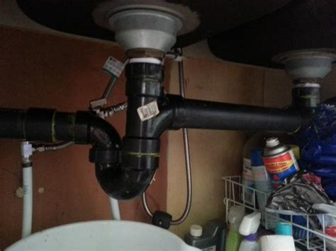 Kitchen Sink Drain Pipe Size P Trap To Low For Kitchen Sink Doityourself Community Forums