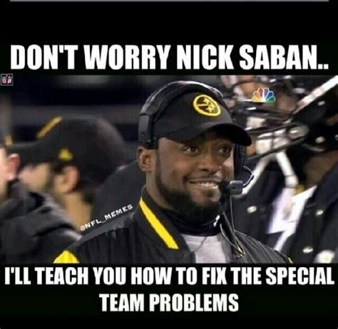 Mike Tomlin Memes - 17 best images about my sports love affair on pinterest