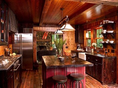 rustic cottage kitchen ideas outdoor track lighting fixtures rustic cottages kitchens