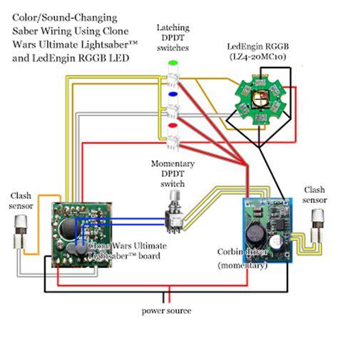 light saber wiring light wiring diagram and circuit