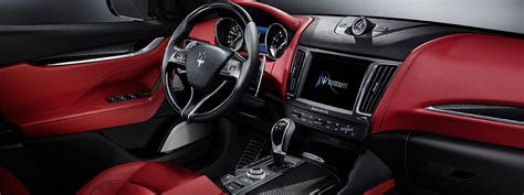 maserati truck interior 2017 maserati levante is the crossover of the